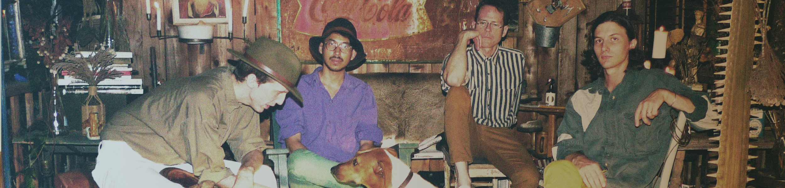 Deerhunter - Deerhunter Share 'Fading Frontier' Concept Map
