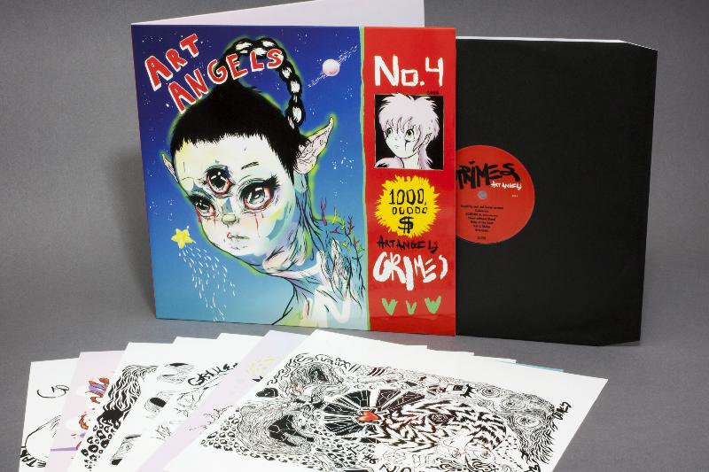 Grimes - artangelsreleasedonlpcdcassettetoday