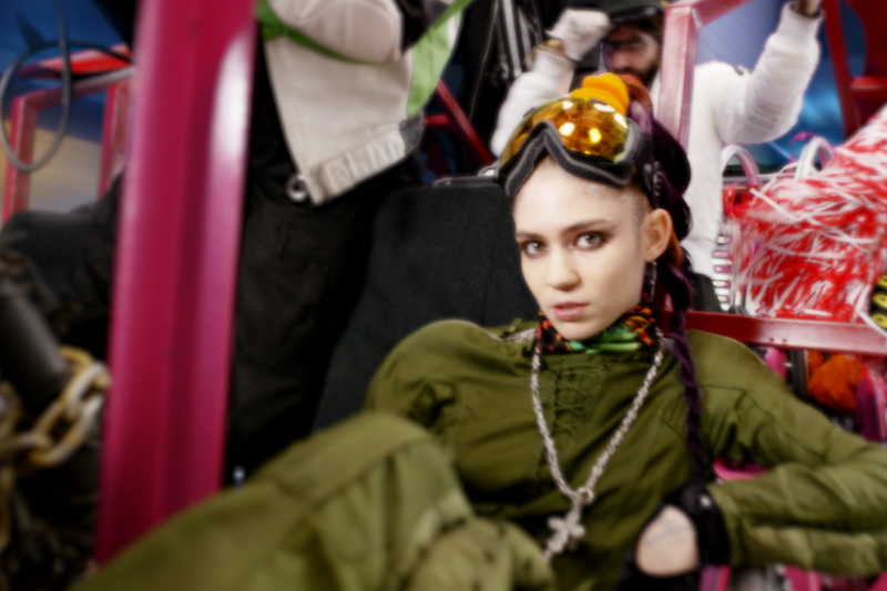 Grimes - 'Kill V. Maim' Video Premieres