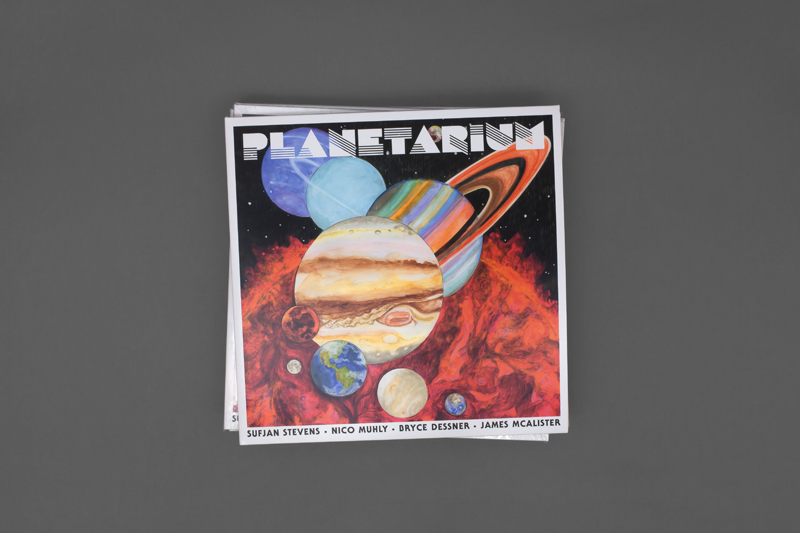 Sufjan Stevens, Bryce Dessner, Nico Muhly, James McAlister - Out Now: Planetarium