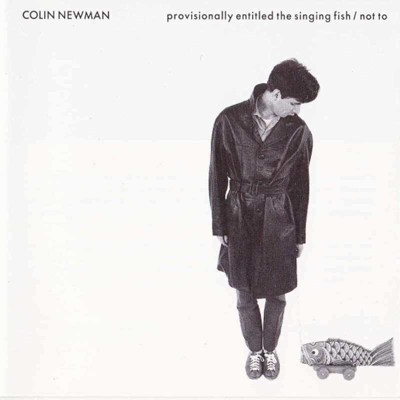 Colin Newman - Provisionally Entitled The Singing Fish / Not To